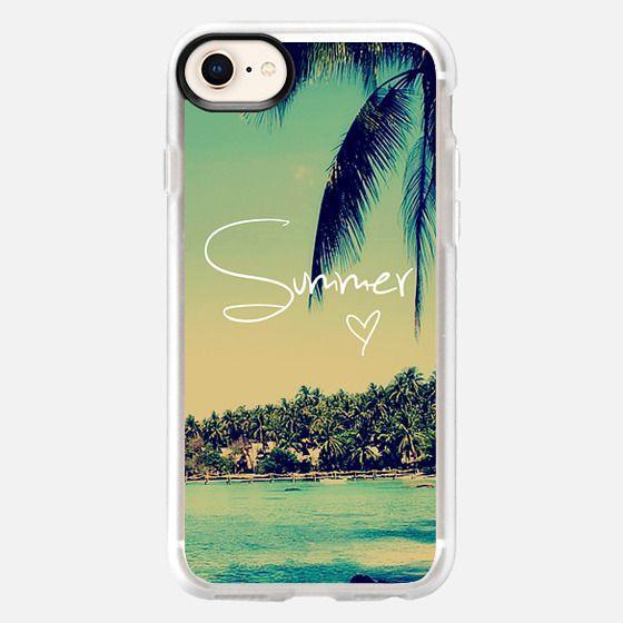 Summer Love Vintage Beach - Snap Case