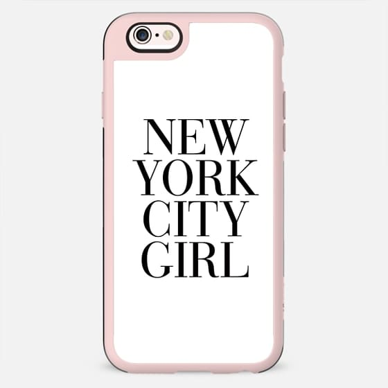 New York City Girl Vogue Typography