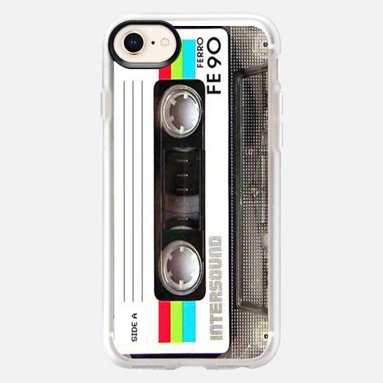 Vintage 80's Cassette Tape - Snap Case