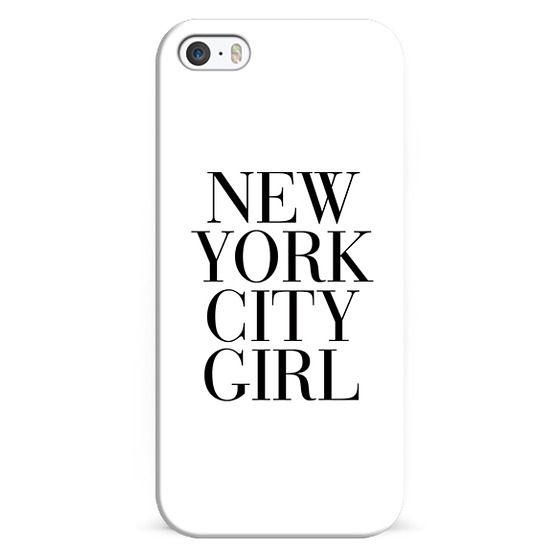 iPhone 5s Cases - New York City Girl Vogue Typography