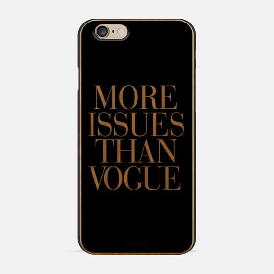 More Issues Than Vogue Black -