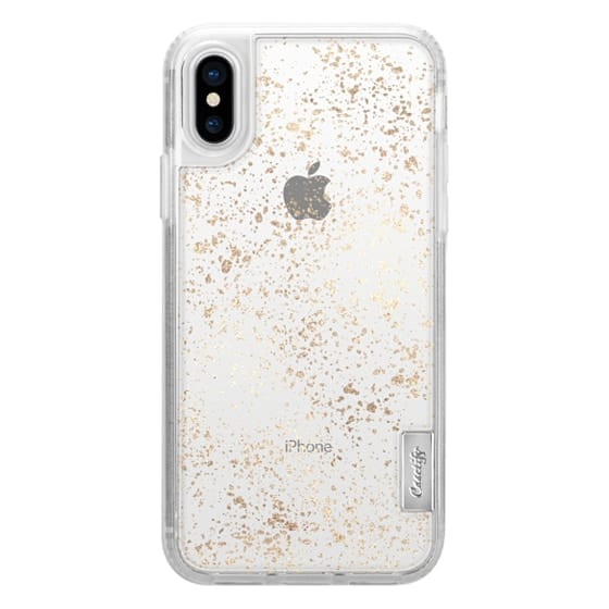 iPhone 6s Cases - Glamorous Faux Gold Abstract Speckles