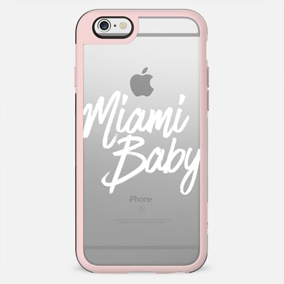 Miami Baby White Summer Typography