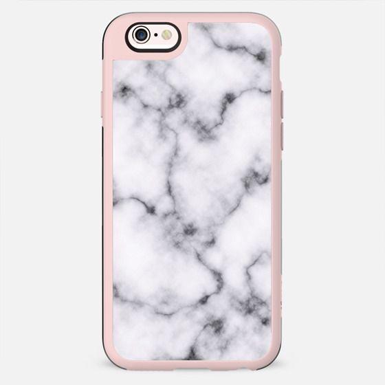 Modern Elegant Black and White Marble Pattern - New Standard Case