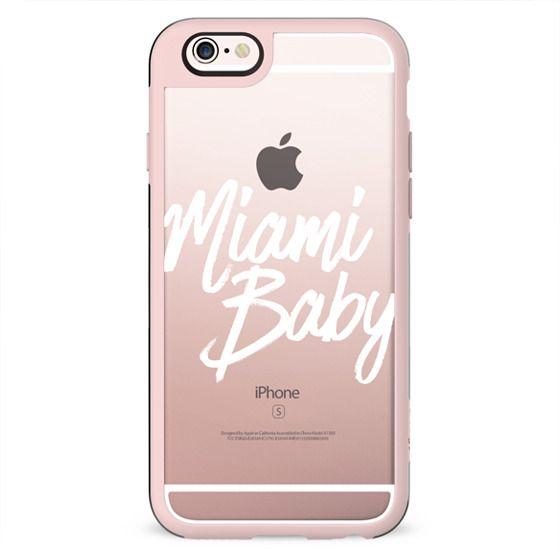 Miami Baby White Summer Typography