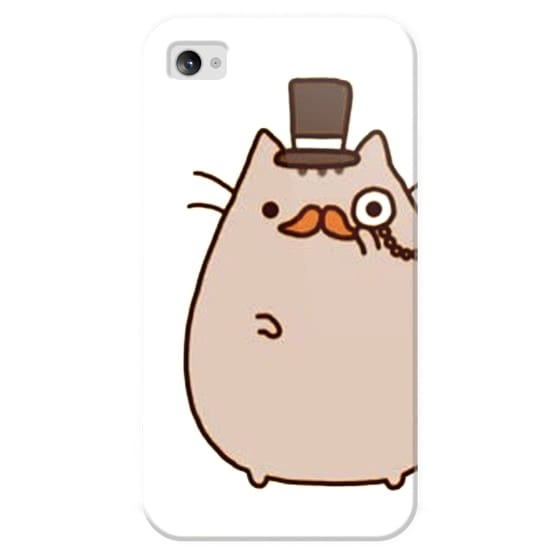 new styles e53a0 52b03 Classic Snap iPhone 4/4S Case - Pusheen