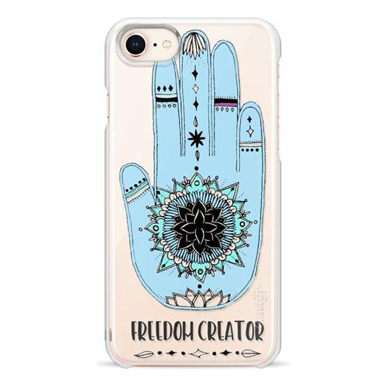 iPhone 7 Plus Cases - Freedom Creator Hamsa
