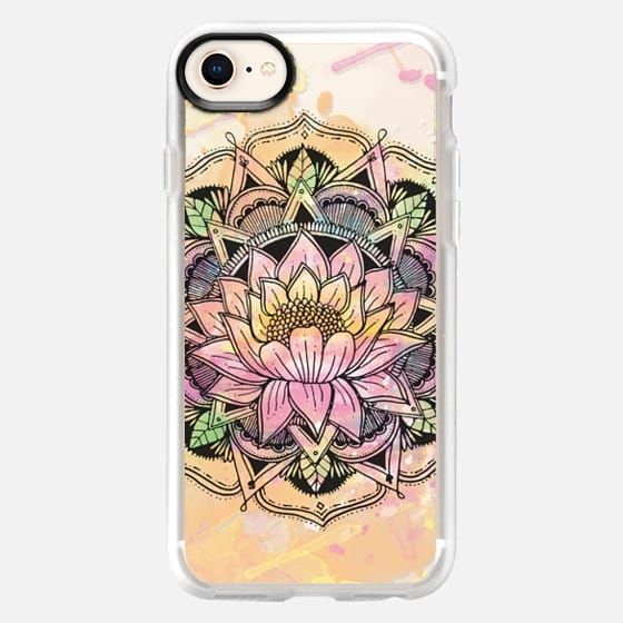 Rise in the mud lotus Mandala - Snap Case