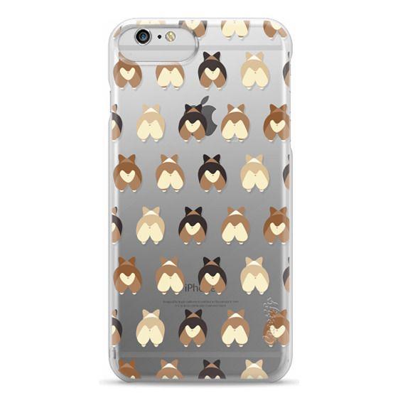 iPhone 6 Plus Cases - Corgi Butts