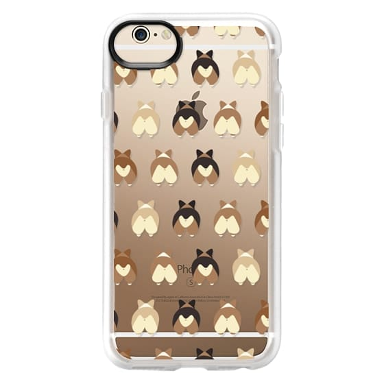 iPhone 6 Cases - Corgi Butts