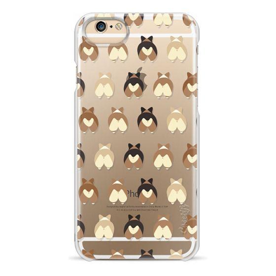 iPhone 6 Cases - Corgi Butts