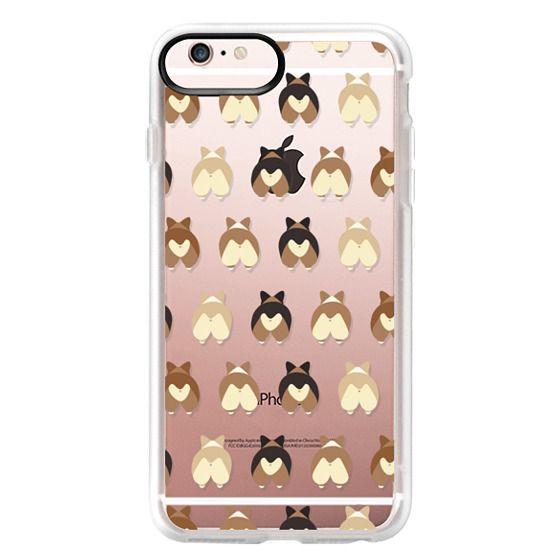 iPhone 6s Plus Cases - Corgi Butts