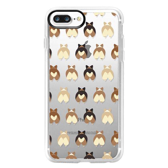 iPhone 7 Plus Cases - Corgi Butts