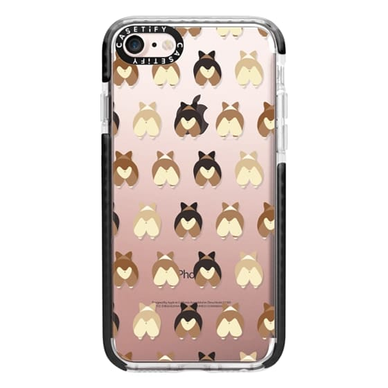 iPhone 7 Cases - Corgi Butts