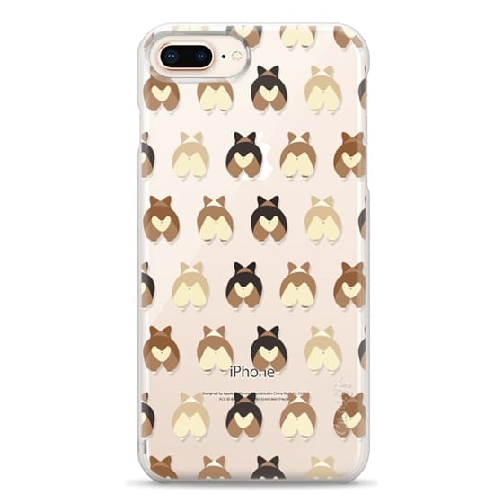 iPhone 8 Plus Cases - Corgi Butts