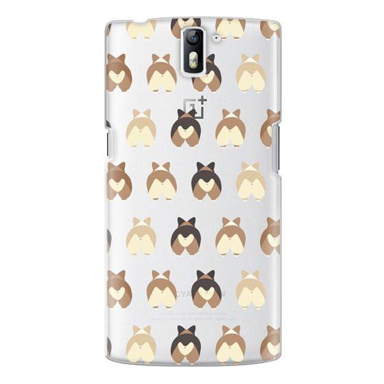 One Plus One Cases - Corgi Butts