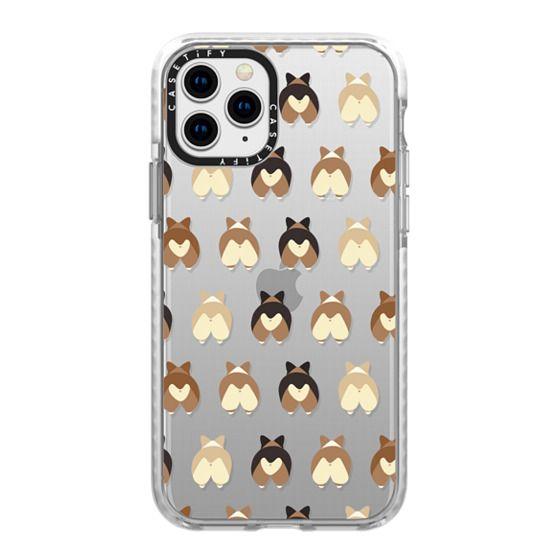 iPhone 11 Pro Cases - Corgi Butts