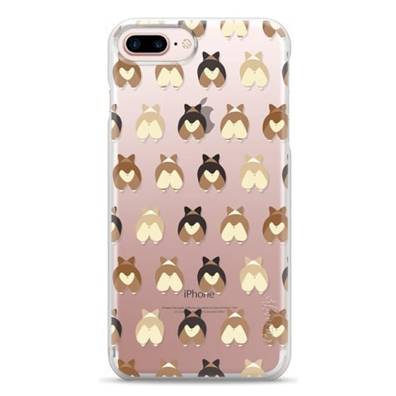 iPhone 7 Plus Cases - Corgi Butts