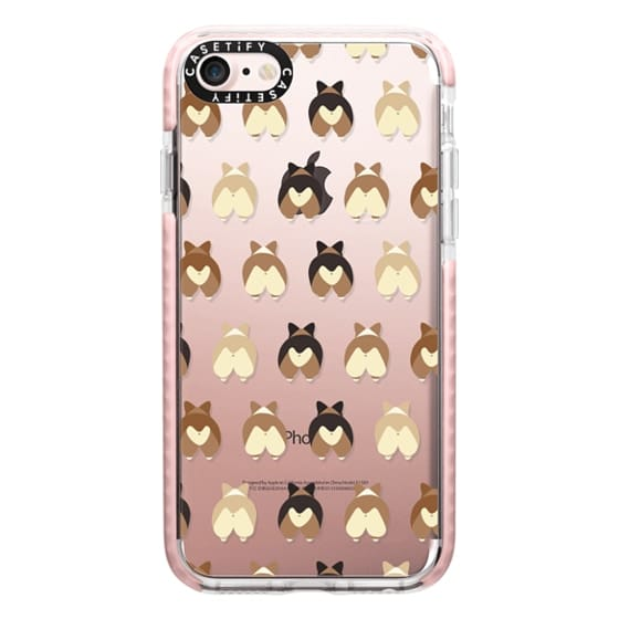 iPhone 7 Cases - Corgi Butts