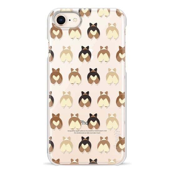 iPhone 8 Cases - Corgi Butts