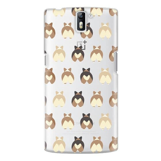 One Plus One Cases - Corgi Butts