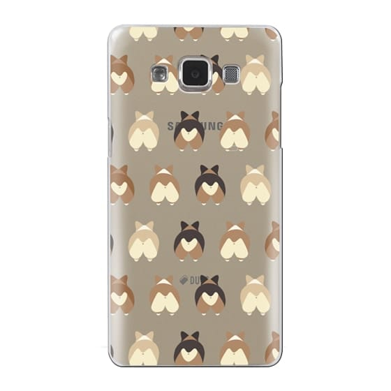 Samsung Galaxy A5 Cases - Corgi Butts