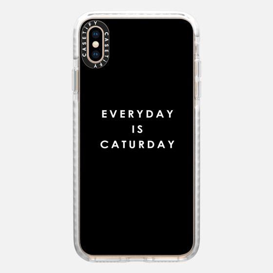 Everyday Is Caturday | Black