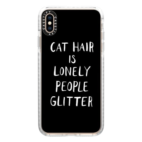 iPhone XS Max Cases - Cat Hair