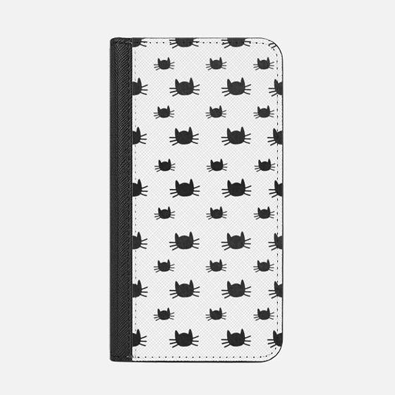 Cat Pattern | Transparent Black