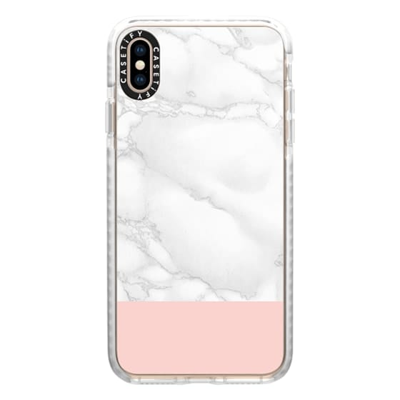 iPhone XS Max Cases - Marble & Pink