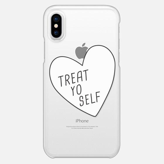 Treat Yo Self | Transparent