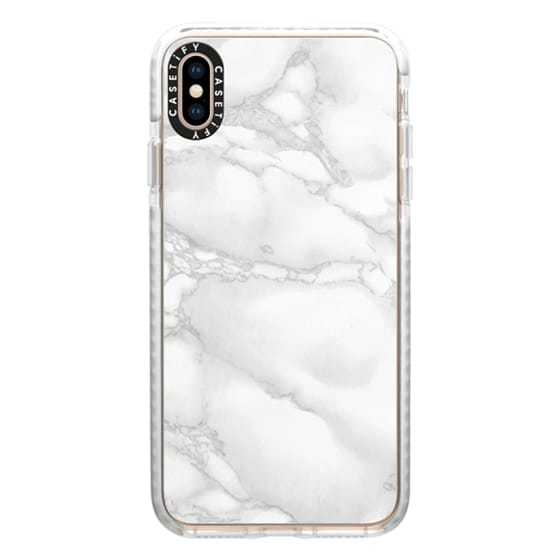 iPhone XS Max Cases - Marble White