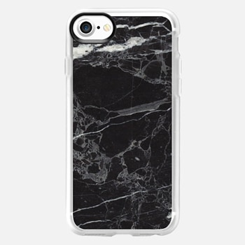 iPhone 7 เคส Classic Black Marble - Graphic by D