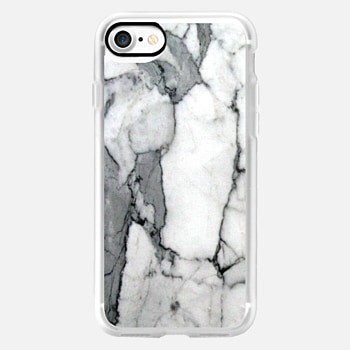 iPhone 7 Case Classic Grey Marble - Graphic by D