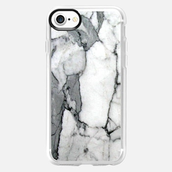 iPhone 7 เคส Classic Grey Marble - Graphic by D