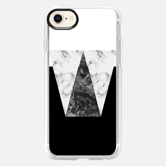 Black Marble - Graphic by D - Snap Case