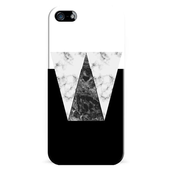 iPhone 6s Cases - Black Marble - Graphic by D