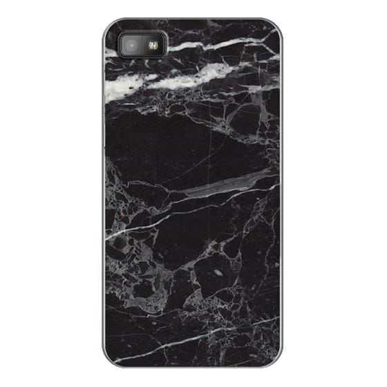 Blackberry Z10 Cases - Classic Black Marble - Graphic by D