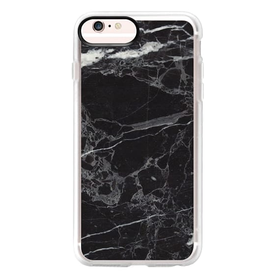 iPhone 6s Plus Cases - Classic Black Marble - Graphic by D