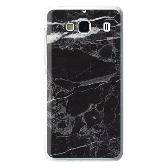Redmi 2 Cases - Classic Black Marble - Graphic by D