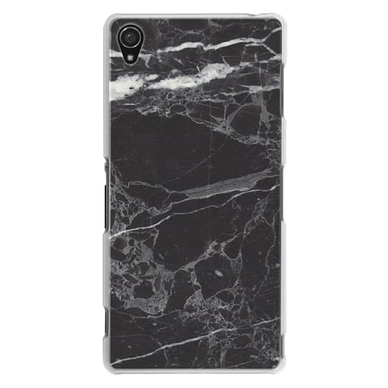 Sony Z3 Cases - Classic Black Marble - Graphic by D