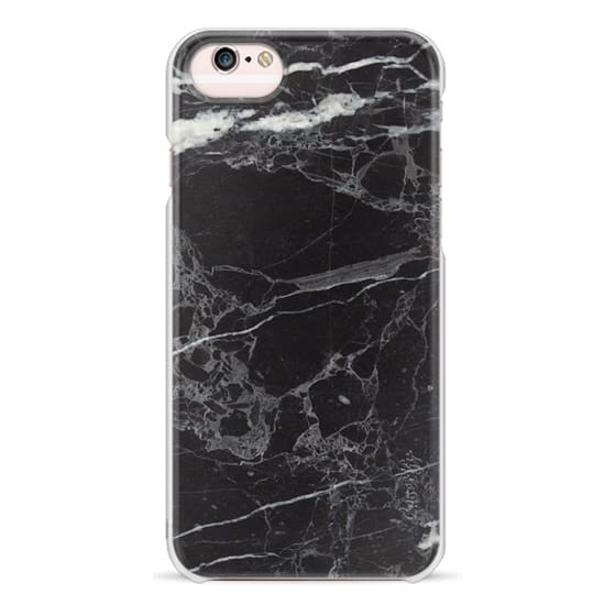 iPhone 6s Cases - Classic Black Marble - Graphic by D