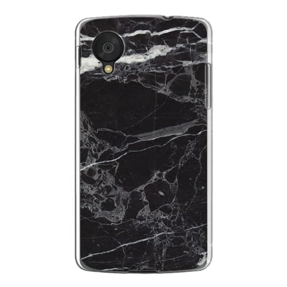 Nexus 5 Cases - Classic Black Marble - Graphic by D