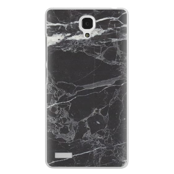Redmi Note Cases - Classic Black Marble - Graphic by D