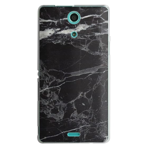 Sony Zr Cases - Classic Black Marble - Graphic by D