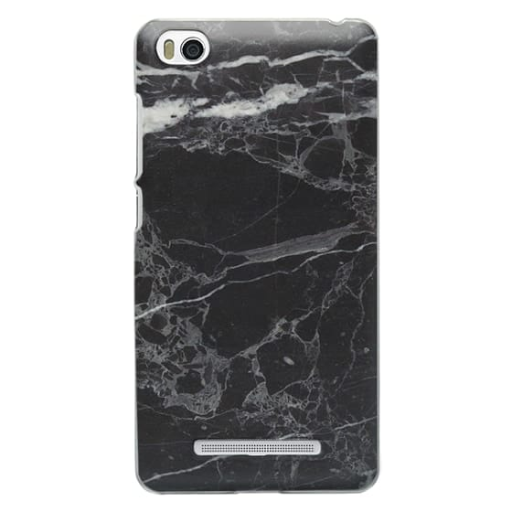 Xiaomi 4i Cases - Classic Black Marble - Graphic by D
