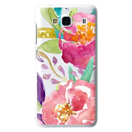 Watercolor Floral Transparent