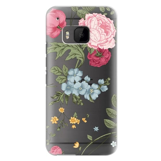 Htc One M9 Cases - Vintage Floral