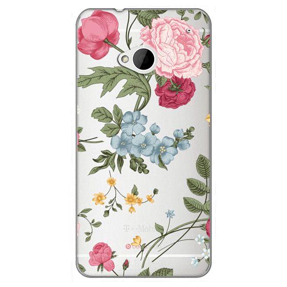 Htc One Cases - Vintage Floral