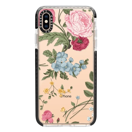 new style 97080 05571 Impact iPhone XS Max Case - Vintage Floral